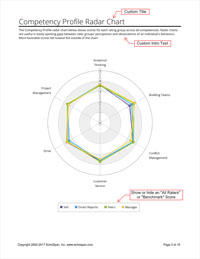 Competency Profile Radar Chart